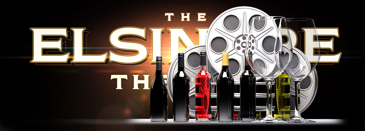 Film and wine tasting at the Elsinore in Salem OR.