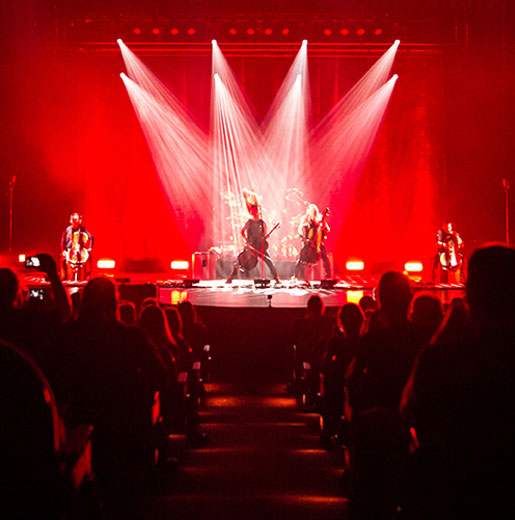 apocalyptica – plays metallica by four cellos tour at the elsinore theatre  salem or